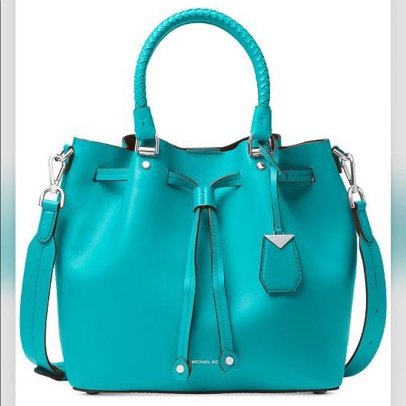 8a5c0e6a9 Michael Kors Bags | Blakely Medium Bucket Bag Nwt | Poshmark
